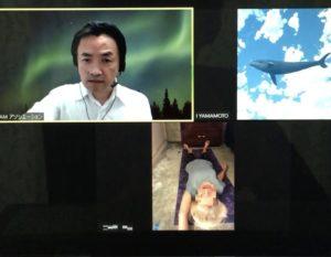 神戸からアメリカへ~遠隔IAM施術・体験記録
