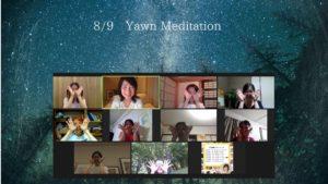 夏の夜空とYawnMeditation ☆09Aug.2020